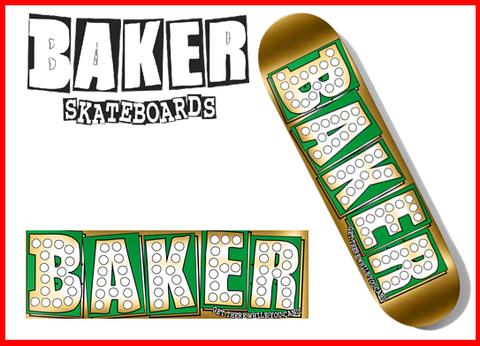 【BAKER】BAKER JUNT GOLD 8.25 スケートデッキ