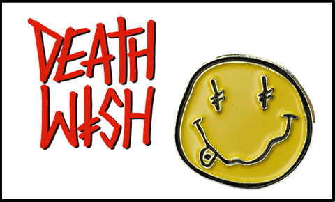 【DEATH WISH】DW LAPEL PIN ピンバッジ
