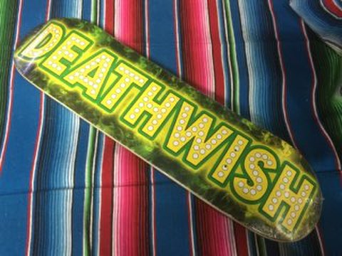 【DEATHWISH】DEATH WISH JUNT 8.0 スケートデッキ