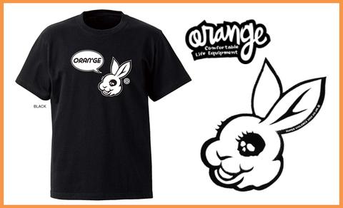【ORANGE】ORANGE×MADBUNNY コラボTシャツ