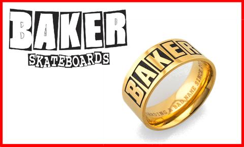 【BAKER】BRAND ROGO RING