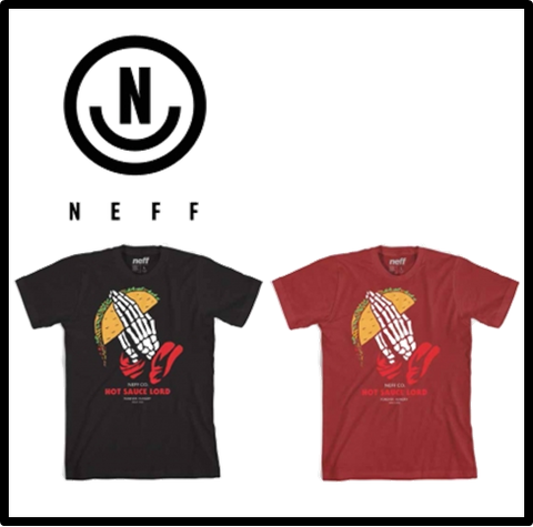 【NEFF】HOT SAUCE LORD TEE