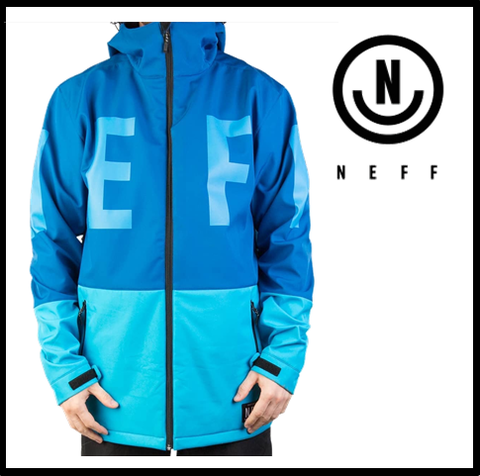 【NEFF】DAILY SOFTSHELL BLUE メンズ Mサイズ