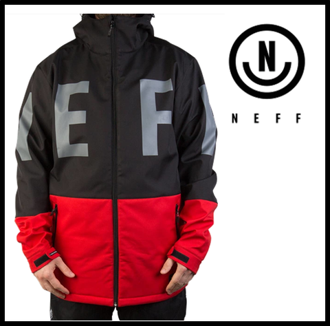 【NEFF】DAILY SOFTSHELL BLACK メンズ Lサイズ