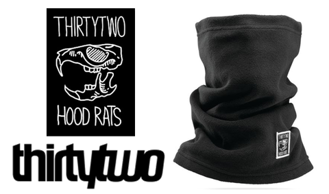 【THIRTY TWO】HOOD RATS NECK GAITER