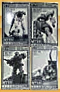 バンプレスト MTSS機動戦士ガンダムパート2 全4種セット【未開封新品】