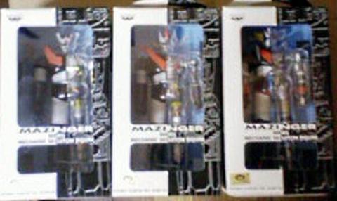 バンプレスト マジンガーシリーズ メカニックスケルトンフィギュア 全3種セット【未開封新品】
