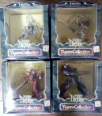 バンプレスト 聖戦士ダンバイン ダンバインフィギュアコレクション 全4種セット【未開封新品】