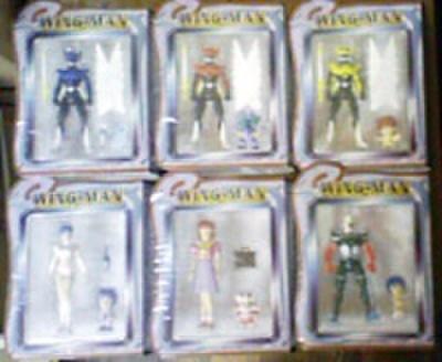 バンプレスト 夢戦士ウイングマン アクションフィギュアコレクション 全6種セット【未開封新品】