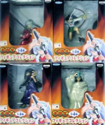 バンプレスト 犬夜叉フィギュアコレクション全4種セット 全4種セット【未開封新品】