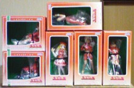 セガ ラブひな コレクションフィギュア クリスマスVer Vol.1&Vol.2 全6種セット【未開封新品】
