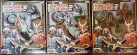 バンプレスト DX 仮面ライダー フィギュア&バイク2 全3種セット【未開封新品】