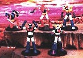 バンプレスト スーパーロボットコンプリートコレクション 炸裂ブレストファアイヤー編 【未開封新品】