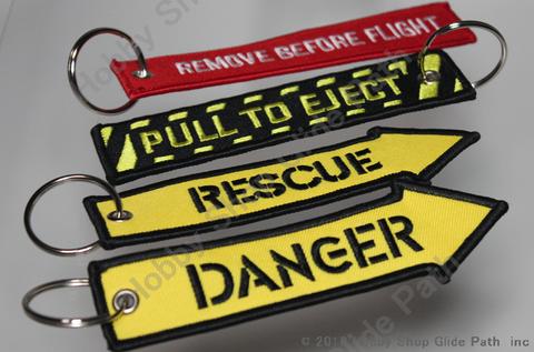航空機フラッグキーリング Remove Before Flight etc