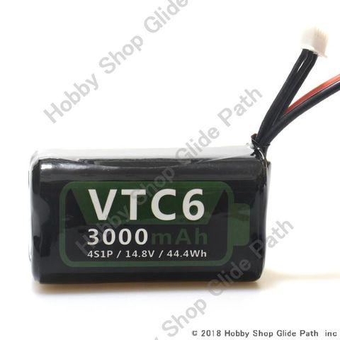 SONY製 VTC6-18650セル使用、4S-3000mAh FPVロングレンジ固定翼に