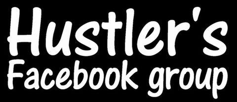 ハスラー Facebookグループ ステッカー 小