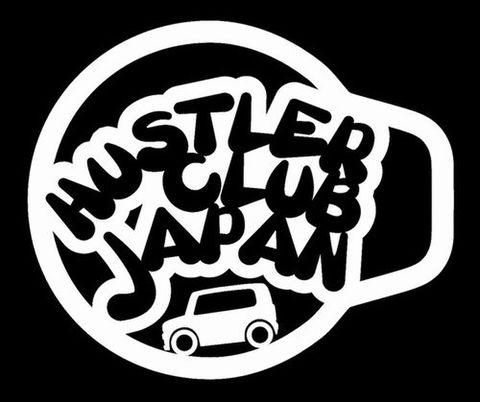 HCJステッカー POP風ロゴ(中)