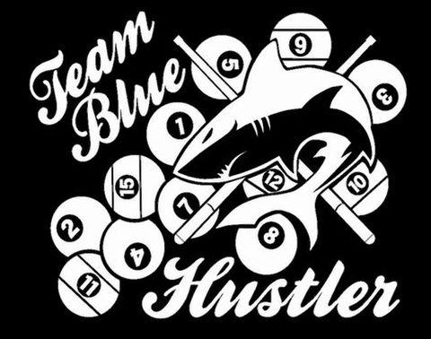 Team Blue用 ロゴマークステッカー