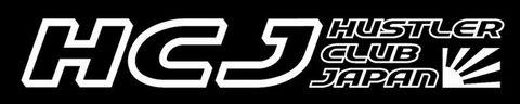 ハスラークラブジャパン ステッカー ver.4 (ver.2+旭日旗)(大)