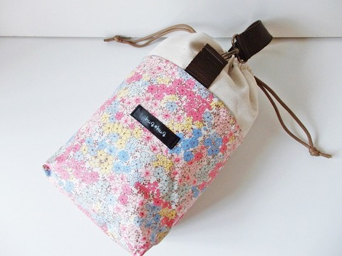 【送料無料】保冷保温マグマグポーチ ふんわりお花畑