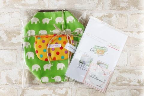 簡易プレゼント包装 麻紐でのラッピング