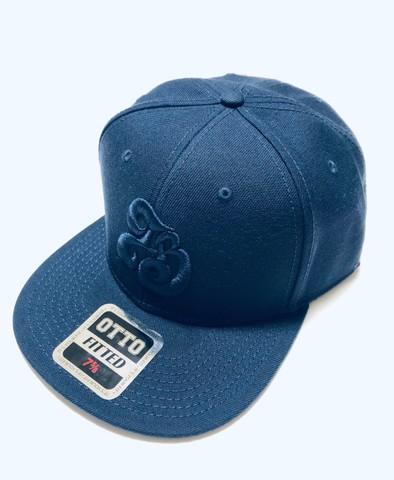 「IB×RHYME SAVER」Baseball Cap-ネイビーボディ-前紺×後白