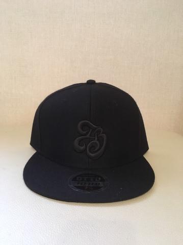 「IB×RHYME SAVER」Baseball Cap黒×白