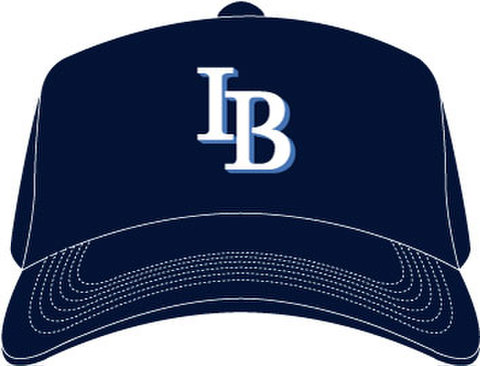 「IB」Baseball Cap(Flex Fit Type)-Navy-