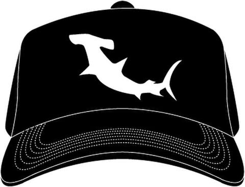 「HAMMERHEAD」 Shark Mesh Cap -Black-