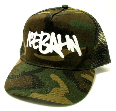 「ICE BAHN」Mesh Cap  -Camo-