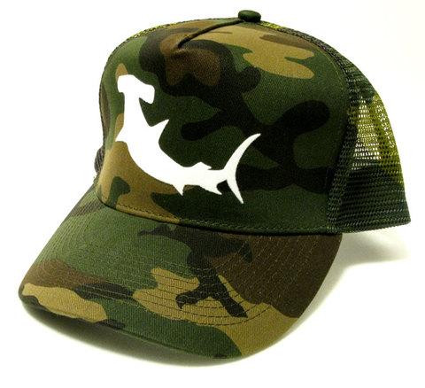 「HAMMERHEAD」 Shark Mesh Cap -Camo-