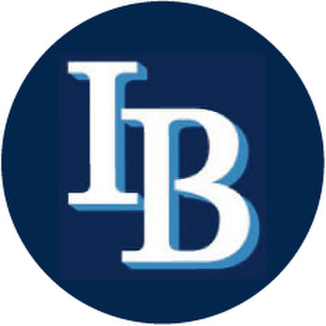 IB-Baseball Logo sticker-Large-