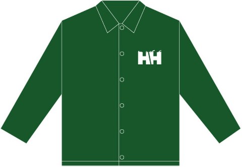 HAMMERHEAD Coach JKT -Green/White-