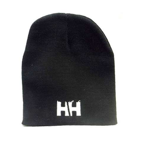 HAMMERHEAD KNIT CAP SHORT -Black/White-
