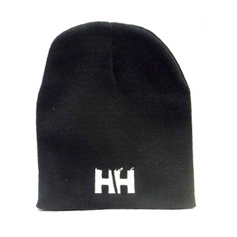 HAMMERHEAD KNIT CAP SHORT -Black/White-