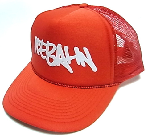 「ICE BAHN」Mesh Cap -Red-