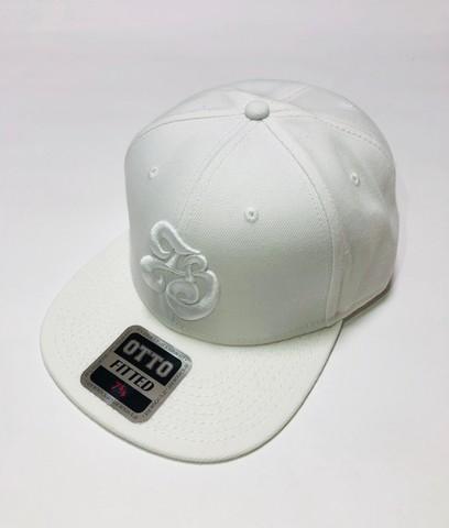 「IB×RHYME SAVER」Baseball Cap-ホワイトボディ-前白×後紺