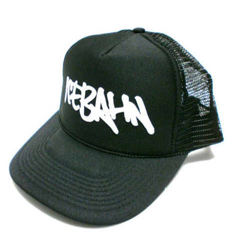 「ICE BAHN」Mesh Cap -Black-