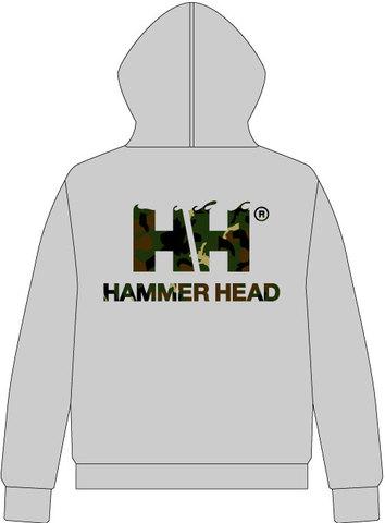 HAMMERHEAD Zip Parka -Gray/Camo-