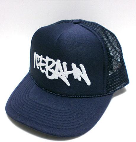 「ICE BAHN」Mesh Cap -Navy-