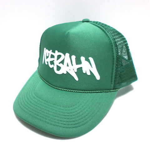 「ICE BAHN」Mesh Cap -Green-