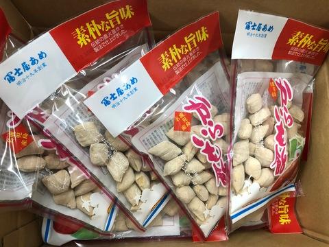 冨士屋製菓 昔ながらのパッケージ からいも飴 130g15袋 1ケース