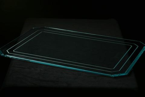 角型アクリルプレート                Lサイズ