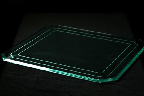 角型アクリルプレート                                Mサイズ