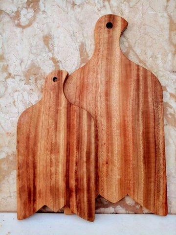 くすの木のカッテイングボード(S)