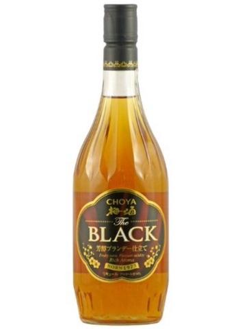 チョーヤ 梅酒 The BLACK(ザ ブラック) 720ml