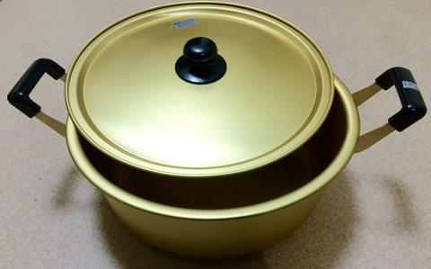 アルミ大型鍋 30cm