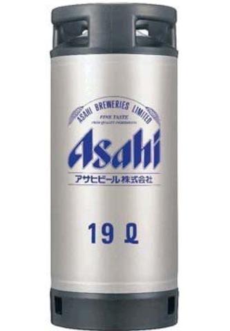 アサヒスーパードライ生樽 19ℓ
