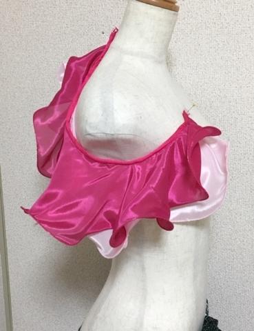 ショルダーフリル PINK*pink