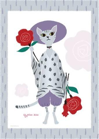 イラストカード・猫